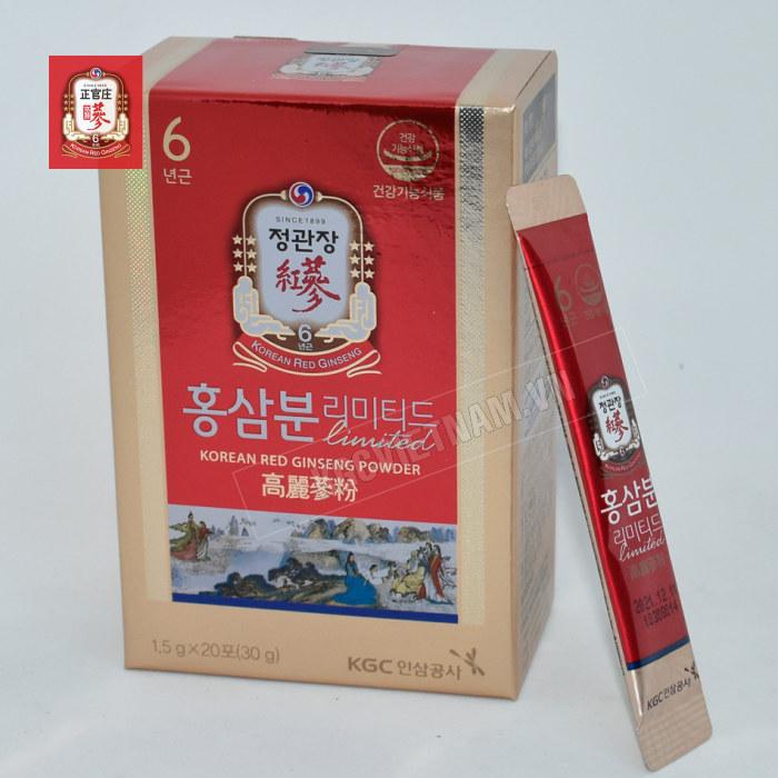 Bột hồng sâm kgc nguyên chất 100%