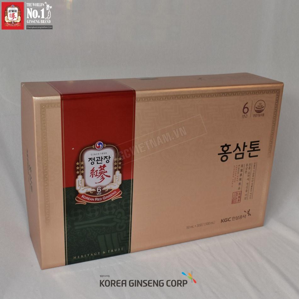 Nước hồng sâm Tonic Mild KGC 50ml x 30 gói