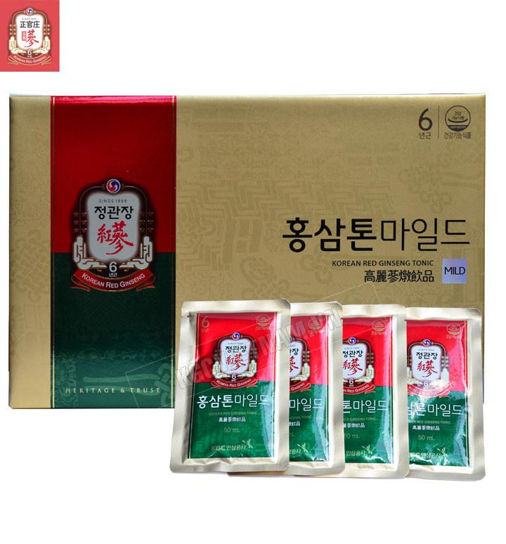 Nước Hồng Sâm Nguyên Chất Cheong Kwan Jang Hàn Quốc