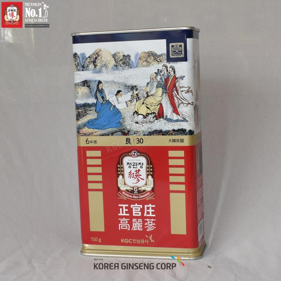 Hồng Sâm Củ Khô Cheong Kwan Jang Hàn Quốc 150 gam 30PCS