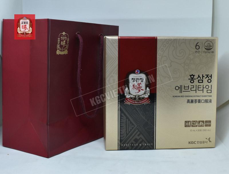 Nước hồng sâm Cheong Kwan Jang - KGC Everytime 10ml x 30 gói