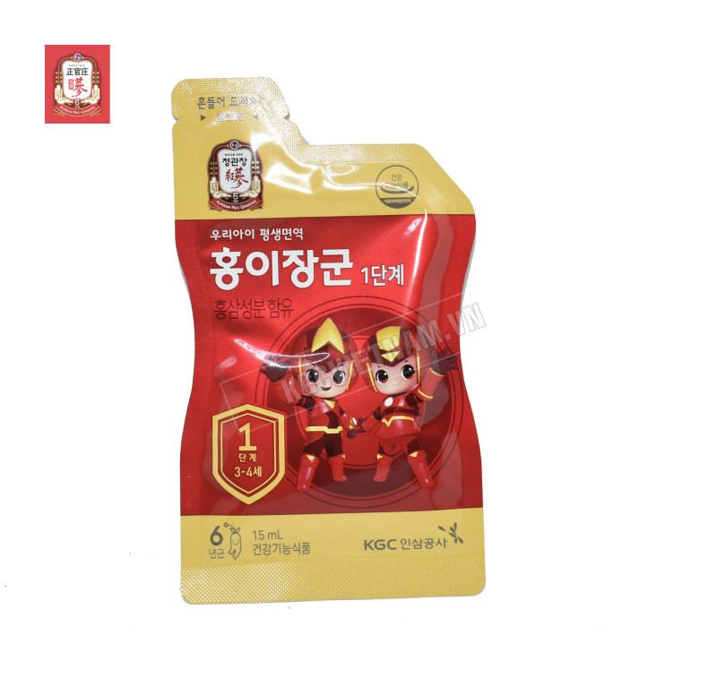 KGC Việt Nam ✅ Nước hồng sâm trẻ em Cheong Kwan Jang ✅ cheong kwan jang