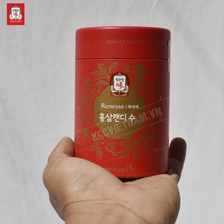 Kẹo Hồng Sâm Có Đường KGC Hàn Quốc 240g