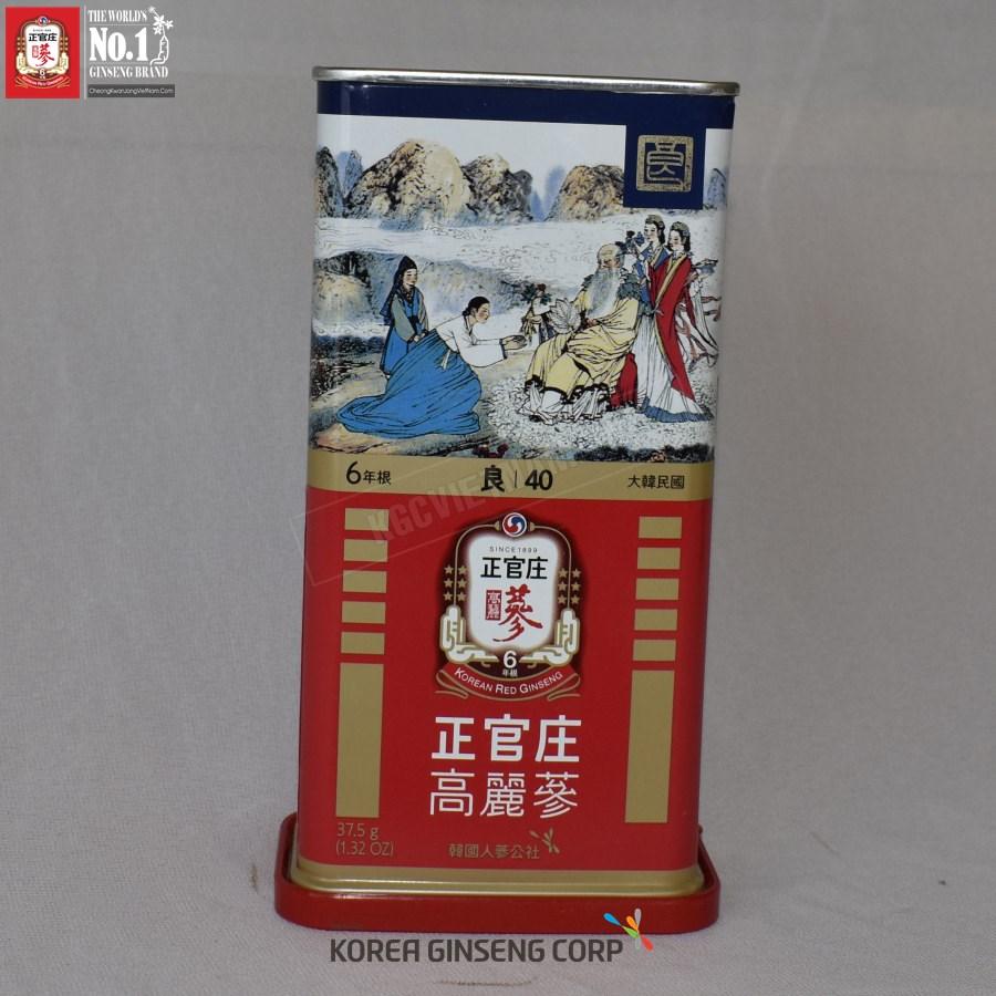 Hồng sâm củ khô KGC Hàn Quốc 37,5g số 40