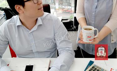 Trà Hồng Sâm KGC Cool Hàn Quốc 2g x 100 Gói