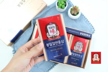 Hồng sâm lát tẩm mật ong Cheong Kwan Jang 20g x 6 gói