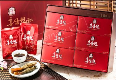 Nước Hồng Sâm KGC Hàn Quốc 6 Năm Tuổi Cao Cấp 50ml x 60 Gói