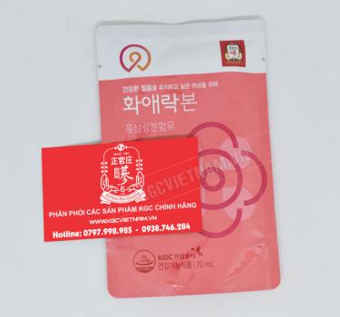 Nước hồng sâm Cheong Kwan Jang dành cho nữ giới