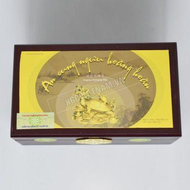 An cung rùa vàng hộp 1 viên