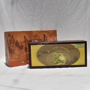 An cung rùa vàng hộp 3 viên