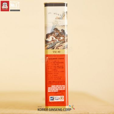 Hồng sâm củ khô KGC Hàn Quốc 300g số 40