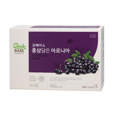 Nước hồng sâm GoodBase Aronia KGC Cheong Kwan Jang 50ml x 30 gói