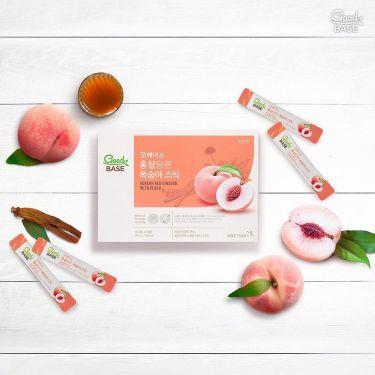 Nước hồng sâm GoodBase Đào KGC Cheong Kwan Jang 10ml x 30 gói