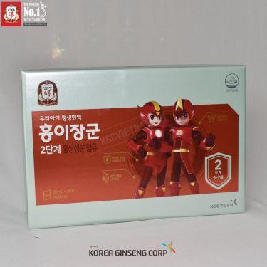 Nước hồng sâm trẻ em KGC Hàn Quốc 20ml x 30 gói số 2