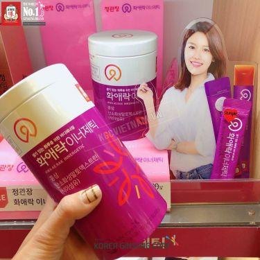 Thạch hồng sâm dành cho phụ nữ KGC CheongThạch hồng sâm dành cho phụ nữ KGC Cheong Kwan Jang Hwa Ae Rak Innergetic 15g x 60 gói Kwan Jang 15g x 60 gói