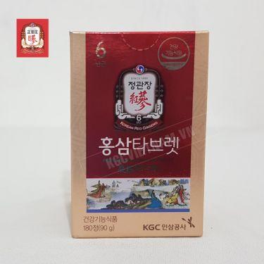 Bột hồng sâm KGC - Cheong Kwan Jang dạng viên nén 90g x 180 viên