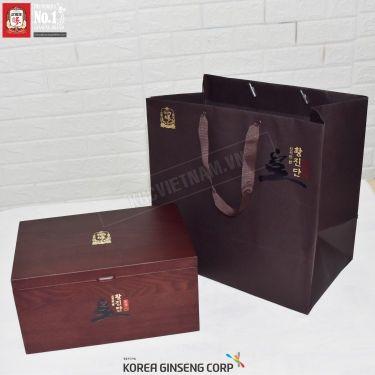 Viên hồng sâm linh đan KGC - Cheong Kwan Jang Hwang jin Dan 4g x 30 viên