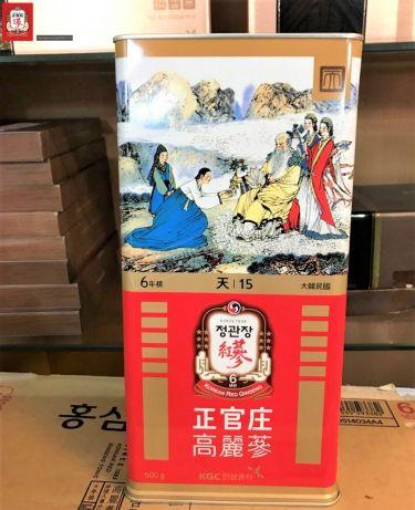 Thiên sâm củ khô KGC Cheong Kwan Jang 600g số 15